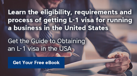 Business Immigration - L-1 Ebook Banner