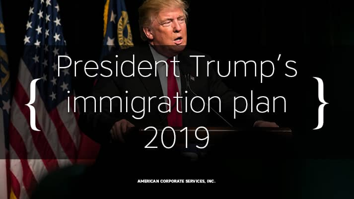 President Trump's plan to change the US immigration system