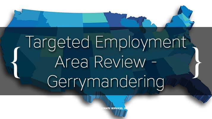 Targeted Employment Area Review - Gerrymandering