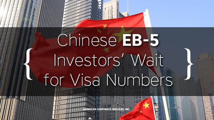 Chinese EB-5 Investors' Wait for Visa Numbers