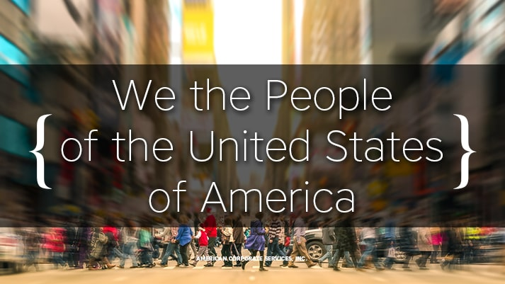 We the People of the United States of America