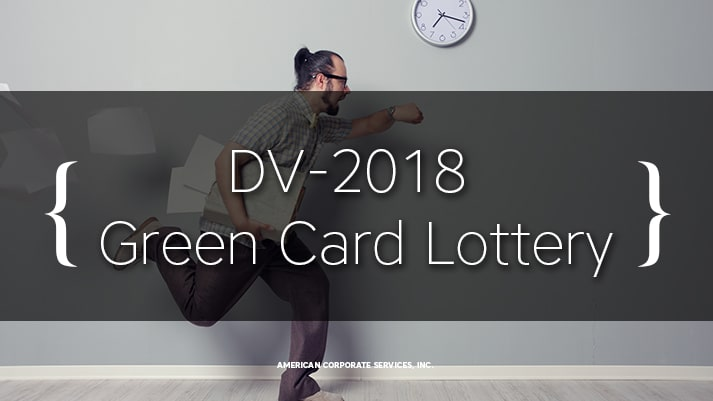 DV-2018 Green Card Lottery