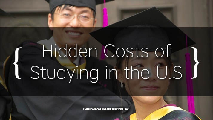 Chinese Students Should Be Aware of Hidden Costs of Studying in the U.S.