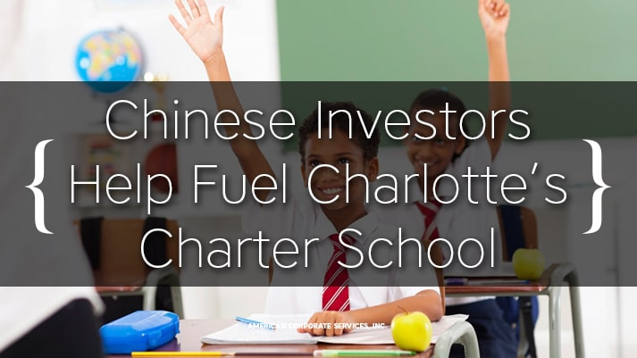 Chinese Investors Help Fuel Charlotte's Charter School