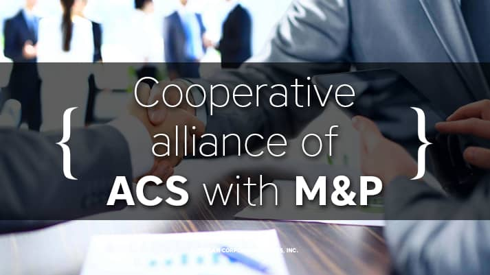 Сooperative alliance of American Corporate Services with M&P -the Moscow law firm