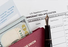 Obligatory requirements for the EB5 investor on the visa application
