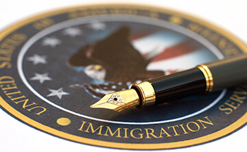 USCIS Immigration officer interview