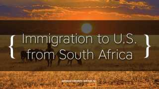 Immigration to U.S. May Be Solution for Destabilization in South Africa