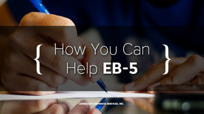 How You Can Help EB-5
