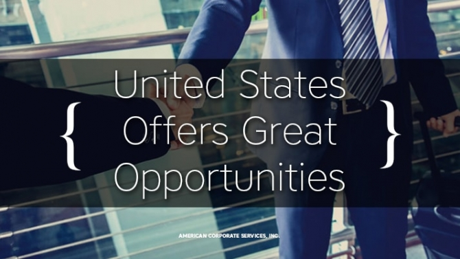 United States Offers Great Opportunities