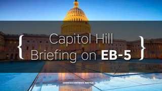 Capitol Hill Briefing on EB-5