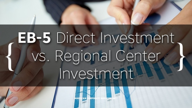 EB-5 Direct Investment vs. Regional Center Investment