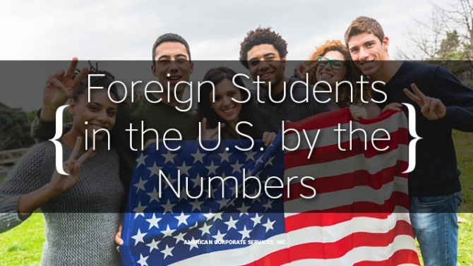 Foreign Students Population in the U.S. by the Numbers