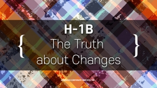 The TRUTH About Changes to the H-1B Visa Program