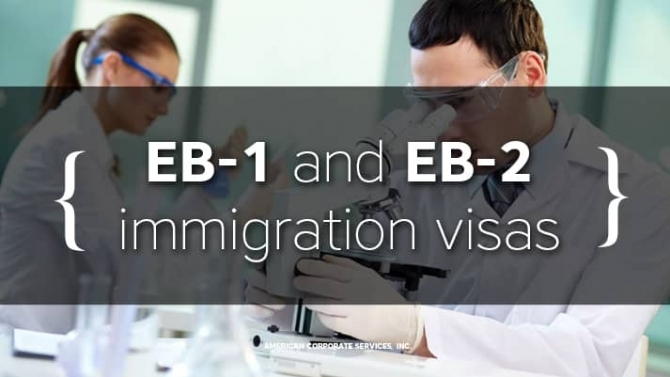 Immigration for people with extraordinary abilities, high education level, and work experience (EB-1 and EB-2 visas)