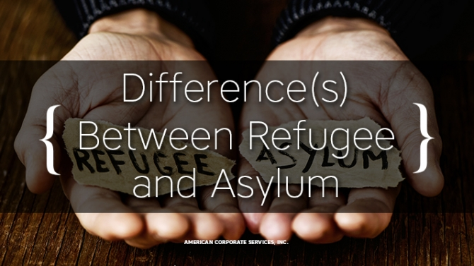 Do You Know the Difference(s) Between a Refugee and an Asylum Seeker?