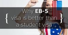Study in USA. Why EB-5 visa is better than a student visa