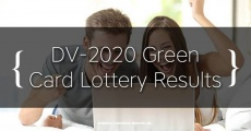 DV-2020 Diversity Visa (Green Card) Lottery Results