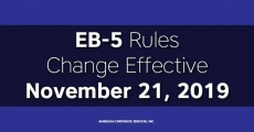 EB-5 Rules Change Effective November 21, 2019